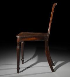 Regency Mahogany Hall Chair - 999743