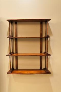 Regency Mahogany Hanging Shelves England Circa 1810 - 1794206