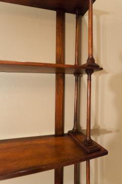 Regency Mahogany Hanging Shelves England Circa 1810 - 1794209
