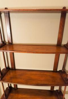 Regency Mahogany Hanging Shelves England Circa 1810 - 1794210