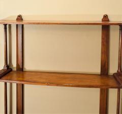 Regency Mahogany Hanging Shelves England Circa 1810 - 1794211