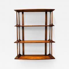 Regency Mahogany Hanging Shelves England Circa 1810 - 1798036