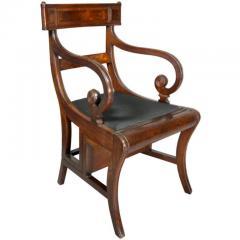 Regency Mahogany Metamorphic Armchair - 1532349