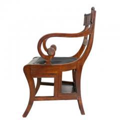 Regency Mahogany Metamorphic Armchair - 1532352