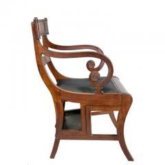 Regency Mahogany Metamorphic Armchair - 1532353