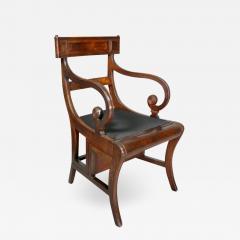 Regency Mahogany Metamorphic Armchair - 1533663