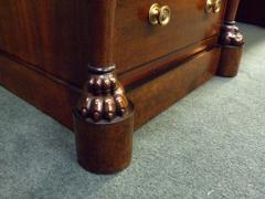 Regency Mahogany and Ebony Inlaid Pedestal Desk - 248273