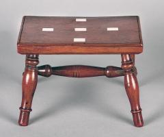 Regency Miniature Lace Makers Table - 1246829