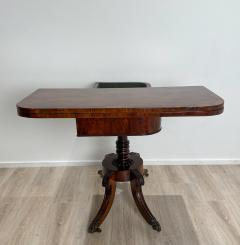 Regency Pedestal Game Table American Early 19th Century - 1637253