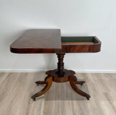 Regency Pedestal Game Table American Early 19th Century - 1637254