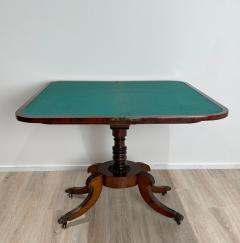 Regency Pedestal Game Table American Early 19th Century - 1637255