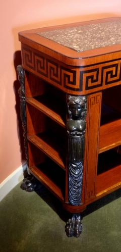 Regency Period Center Table Bookcase - 516038