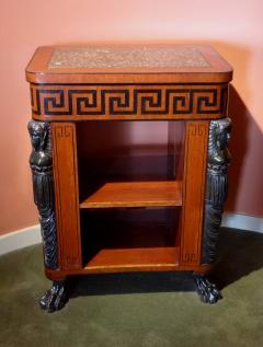Regency Period Center Table Bookcase - 516039