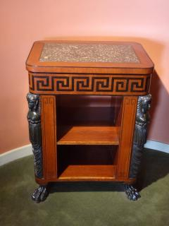 Regency Period Center Table Bookcase - 516041