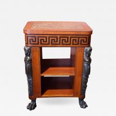 Regency Period Center Table Bookcase - 516620