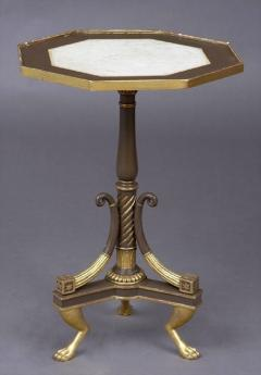 Regency Period Painted And Parcel Gilt Octagonal Table - 477381