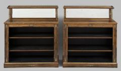 Regency Period Rosewood Bookcases - 102785