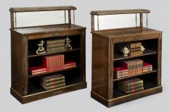 Regency Period Rosewood Bookcases - 102786