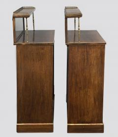 Regency Period Rosewood Bookcases - 102787