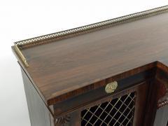 Regency Rosewood Breakfront Side Cabinet - 305376