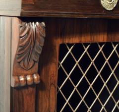 Regency Rosewood Breakfront Side Cabinet - 305378