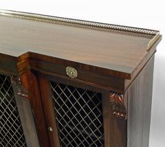 Regency Rosewood Breakfront Side Cabinet - 305379