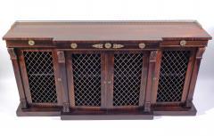 Regency Rosewood Breakfront Side Cabinet - 305380