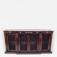 Regency Rosewood Breakfront Side Cabinet - 305643