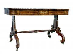 Regency Rosewood and Brass Inlaid Writing Table - 1521949