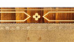 Regency Rosewood and Brass Inlaid Writing Table - 1521983