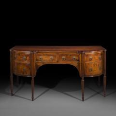 Regency Style Solid Padouk Sideboard or Serving Table - 1071253