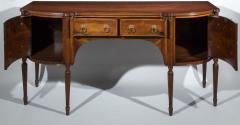 Regency Style Solid Padouk Sideboard or Serving Table - 1071260