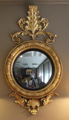 Regency period convex mirror of massive size - 2027512