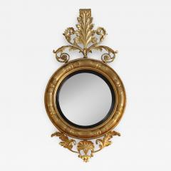 Regency period convex mirror of massive size - 2029093