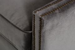 Regina Andrew Design Regina Andrew Design Modern Velvet Brass Studded Arm Chair - 1091605