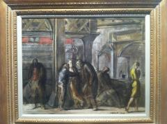 Reginald Marsh Chatham Square Under the El 1952 - 44317