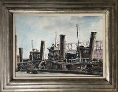 Reginald Marsh Tugboat - 1882383