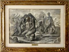 Reginald Marsh Water Sports Swimmers and Bathers at Coney Island - 1194328