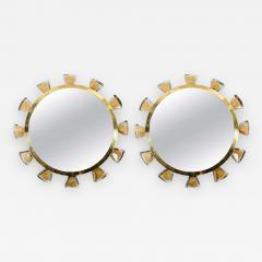 Regis Royant Murano and Glass Mirror - 732025