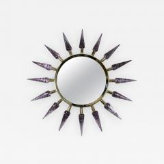 Regis Royant Sunburst Murano Glass Mirror - 732039