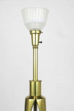 Rembrandt Brass and Azure Blue Table Lamp - 267079