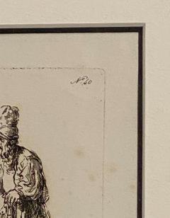 Rembrandt Etching 40 by Francesco Novelli - 1487077