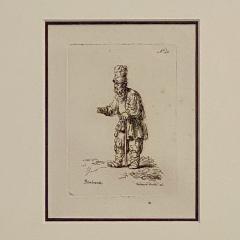 Rembrandt Etching 40 by Francesco Novelli - 1487078