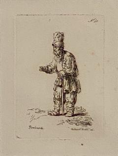 Rembrandt Etching 40 by Francesco Novelli - 1487240