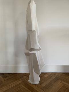 Ren Bascands MODERNIST SCULPTURE Plaster Study - 1148993