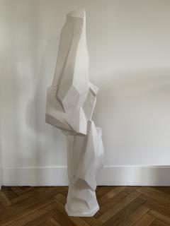Ren Bascands MODERNIST SCULPTURE Plaster Study - 1148994