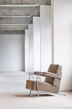Ren Coquery Ren Coquery B251 Lounge Chair for Thonet Fr res 1930 - 614838