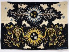 Ren Fumeron Aubusson Tapestry by Ren Fumeron Autumn Winter Woven in Pinton Workshop 1 6 - 1304985