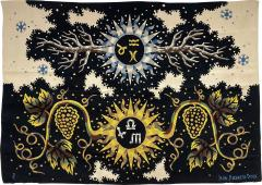 Ren Fumeron Aubusson Tapestry by Ren Fumeron Autumn Winter Woven in Pinton Workshop 1 6 - 1307474