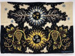 Ren Fumeron Aubusson Tapestry by Ren Fumeron Autumn Winter Woven in Pinton Workshop 1 6 - 1307477